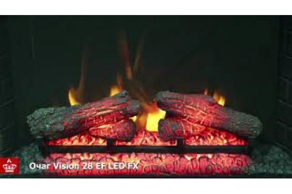 Электрокамин Vision 28 EF LED FX (Вижн 28)