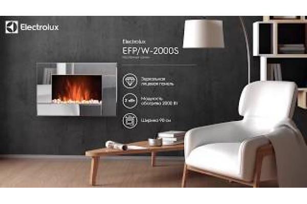 Настенный электрокамин EFP/W-2000S