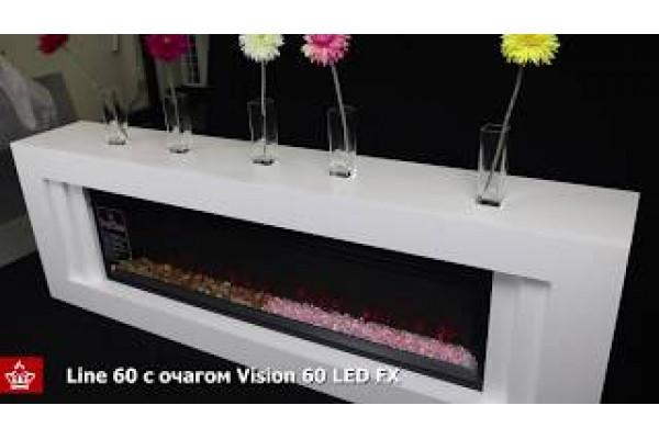 Электрокамин Vision 60 LED (Вижн 60)