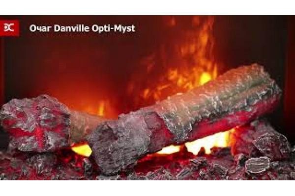 Электрокамин Danville Antique Brass FB2 (Дэнвиль Антик Брасс)