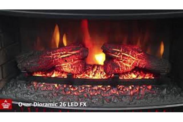 Электрокамин Dioramic 26 LED FX (Диорамик 26)