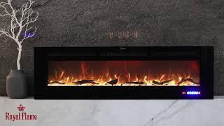 Обзор пламени электроочага Galaxy 60 RF